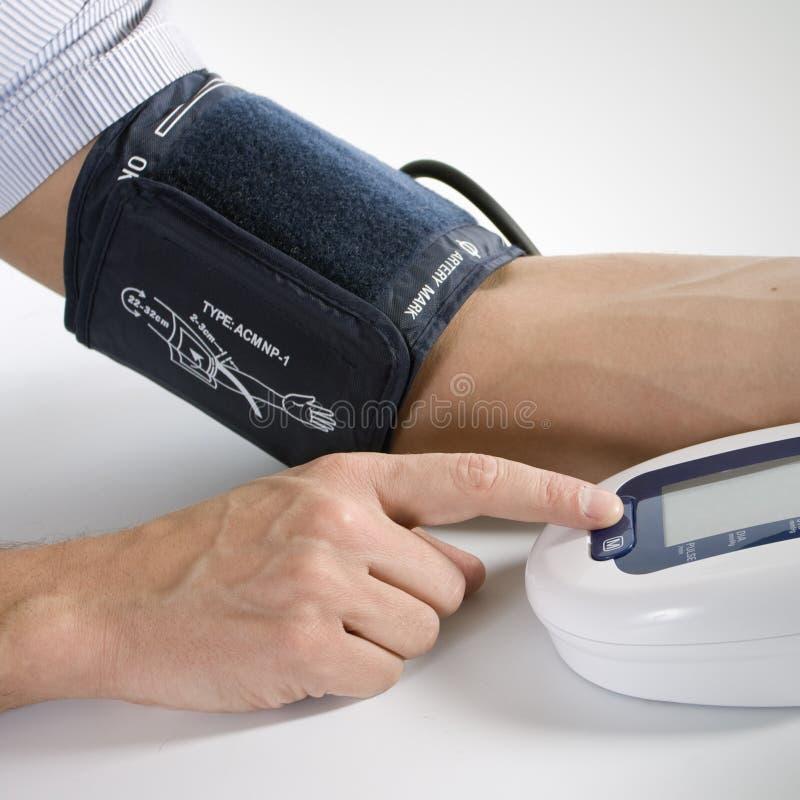 La pressione sanguigna fotografia stock libera da diritti