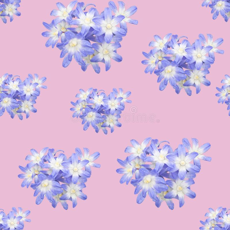 La primavera florece el modelo inconsútil del fondo libre illustration