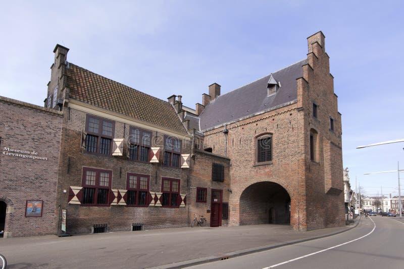La prisión es una prisión medieval en La Haya imagen de archivo libre de regalías