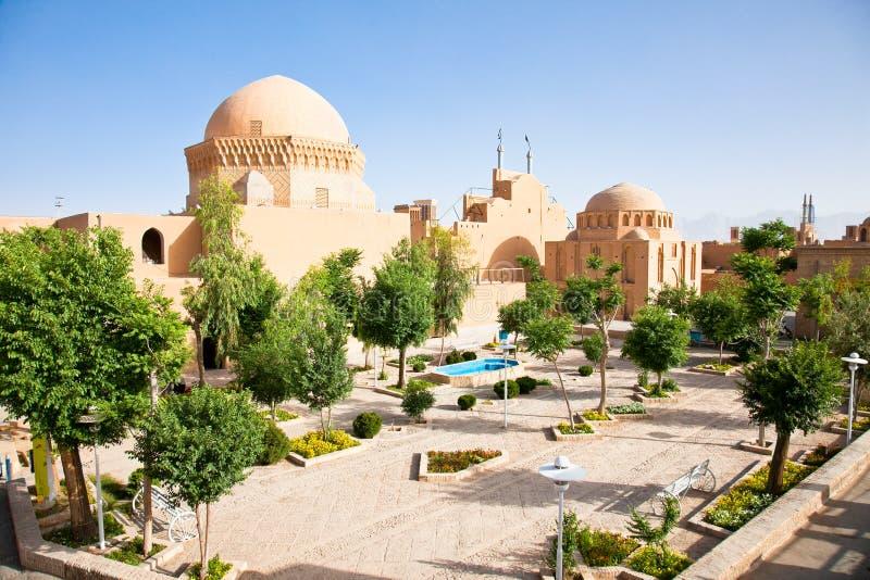 La prison d'Alexandre, Yazd, Iran photo stock