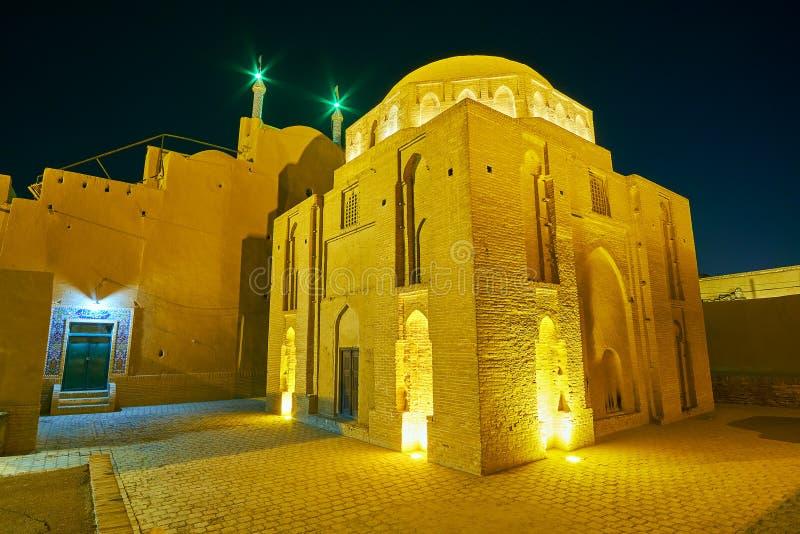 La prison du ` s d'Alexandre dans Yazd photos stock