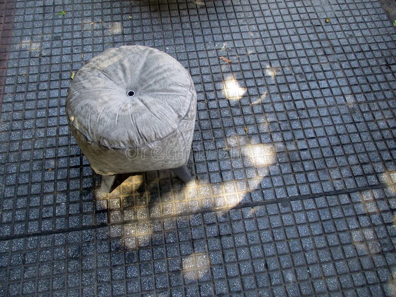 La promenade de sculpture dans le voisinage de Boedo Buenos Aires Argentine Amérique du Sud photographie stock