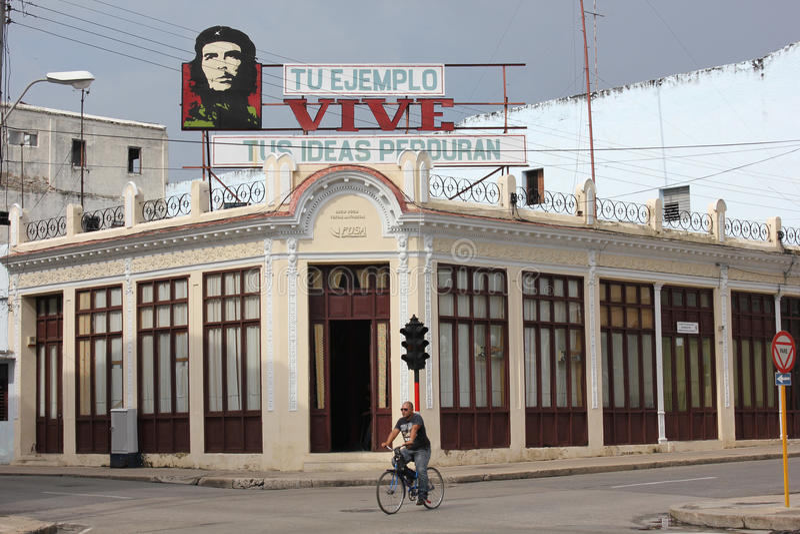 La propagande du Cuba photos stock