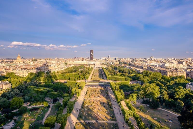 La publicité aux Jeux Olympiques dans les Frances images libres de droits