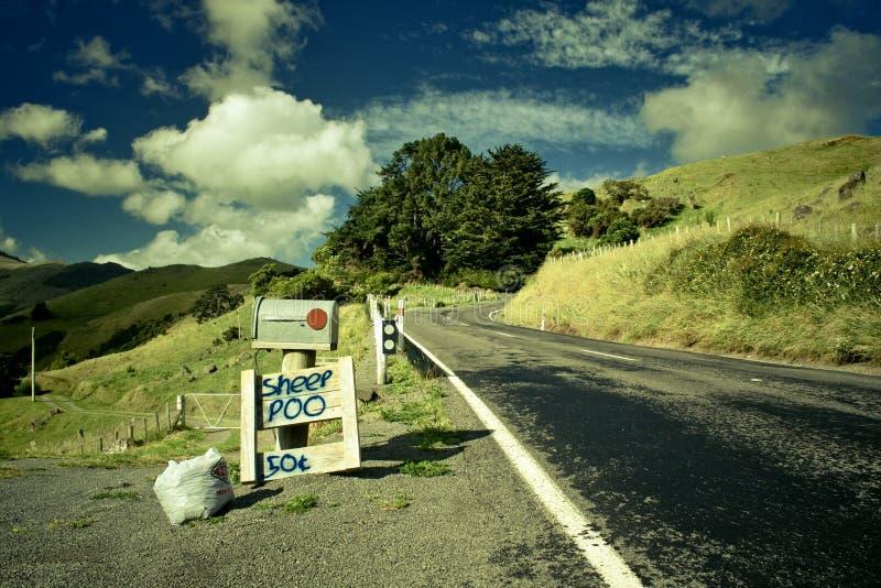 La publicité de bord de la route photo libre de droits
