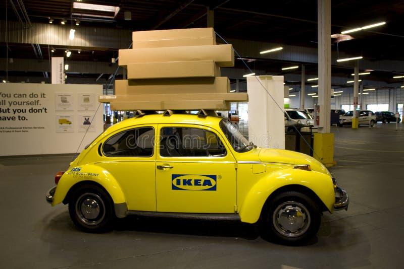 La publicité pour Ikea Seattle image stock
