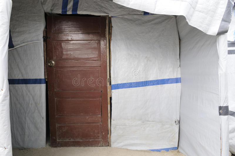 La Puerta. Foto de archivo editorial