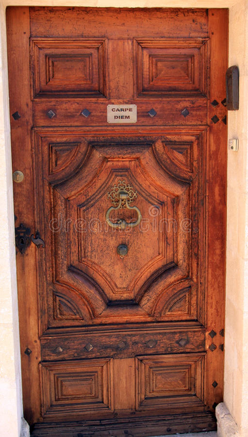 La puerta de la oportunidad - carpe diem imágenes de archivo libres de regalías