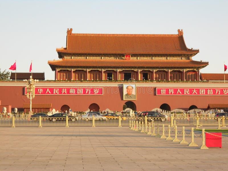 La puerta de Tiananmen foto de archivo libre de regalías