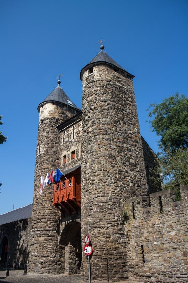 La puerta del infierno de Maastricht - Helpoort fotos de archivo libres de regalías
