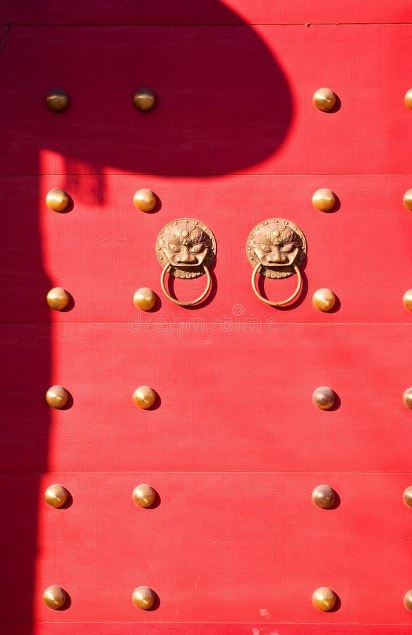 La puerta del palacio imperial fotos de archivo