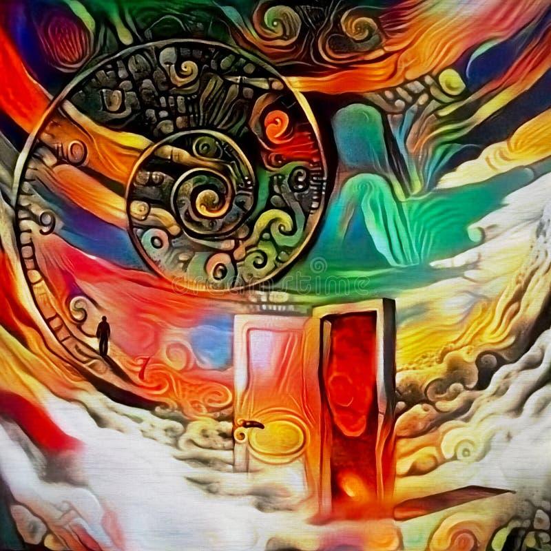 La puerta a los sueños infinitos libre illustration