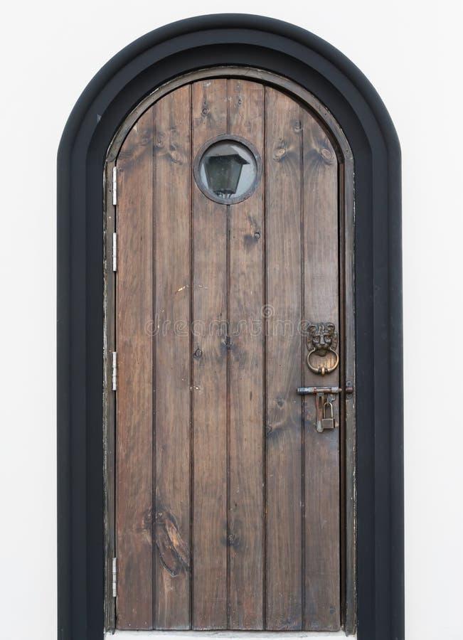 La puerta vieja foto de archivo