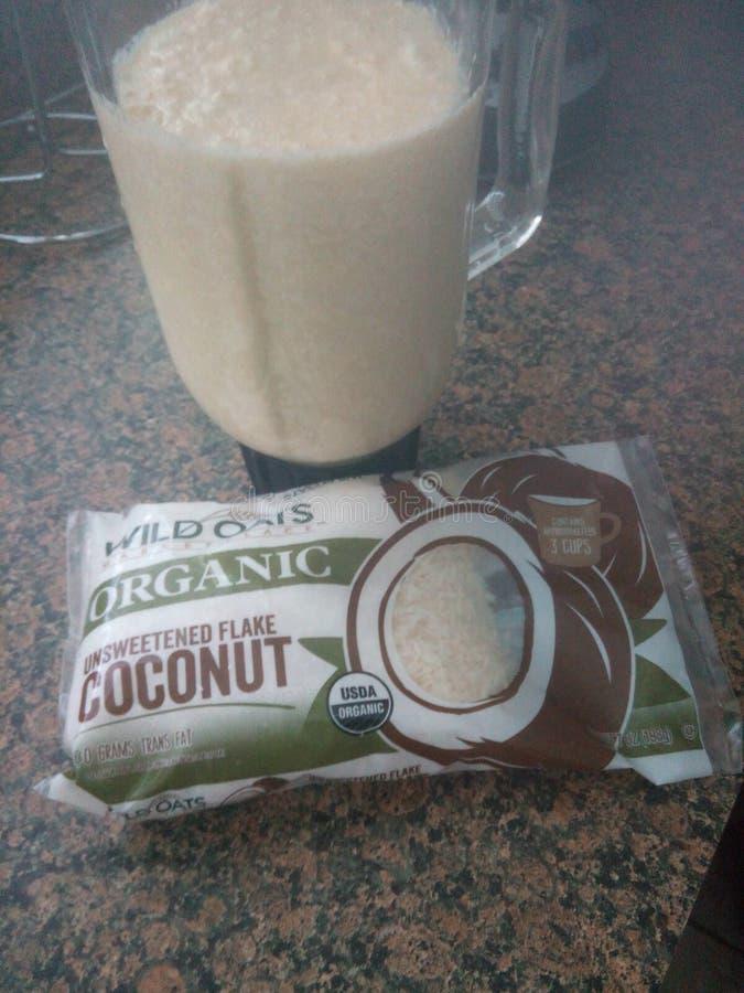 La puissance de la noix de coco photos libres de droits