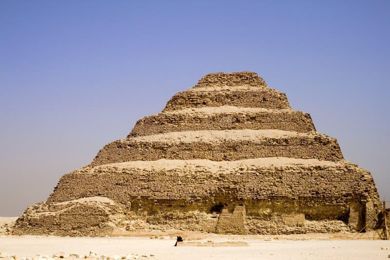 La pyramide d'opération de Djoser photo libre de droits
