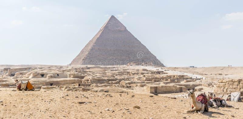 La pyramide de Khafre en Egypte photos stock