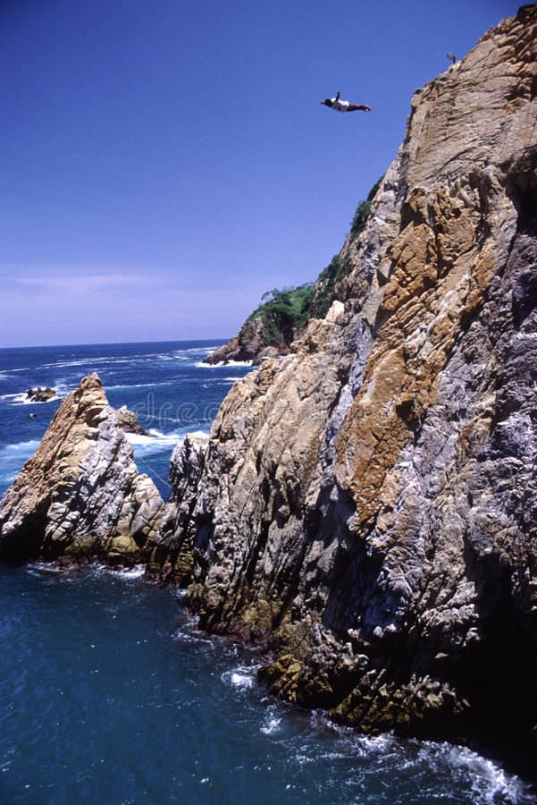 Download La Quebrada-Acapulco Mexique Image stock - Image du dangereux, tropical: 83333