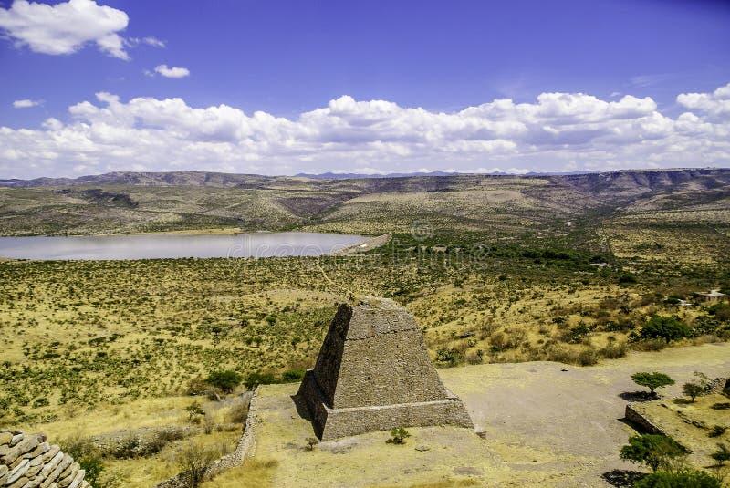 La quemada Zacatecas photographie stock