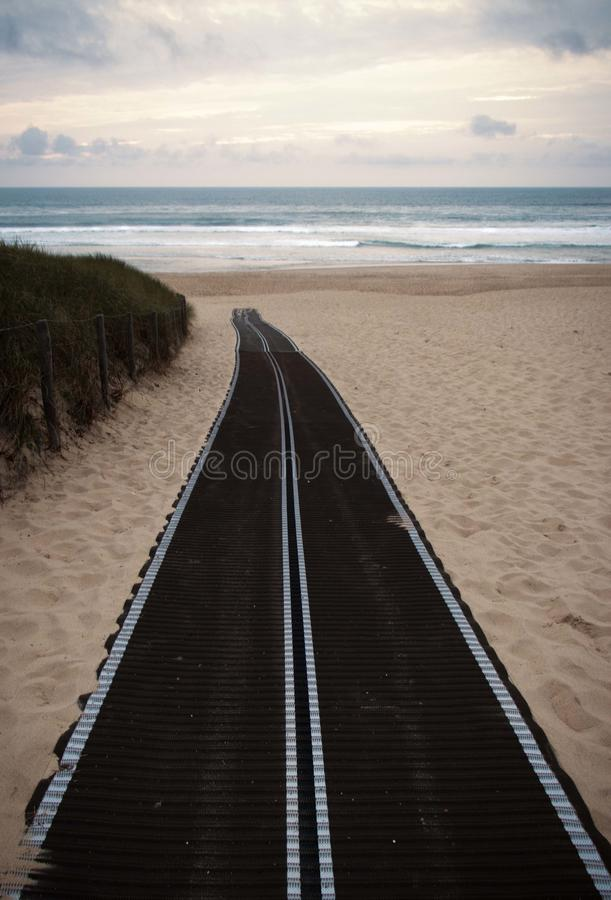 La路线qui l'océan finit的dans