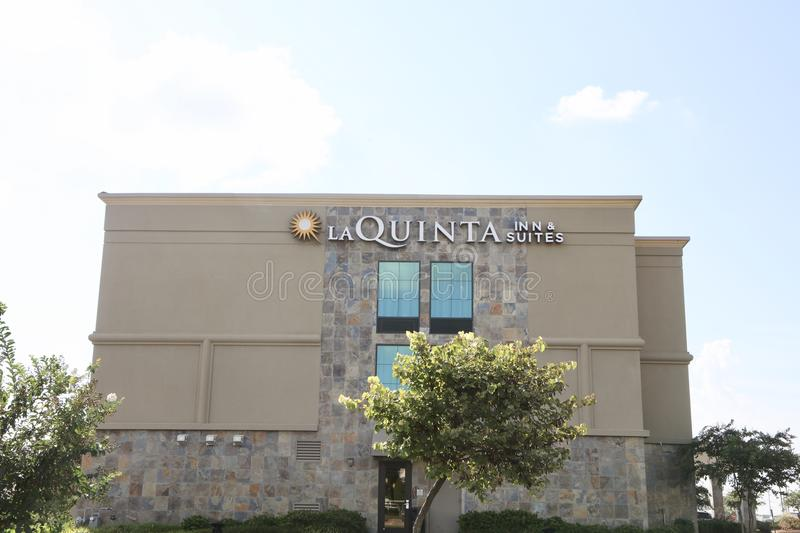 La Quinta Inn and Suites. La Quinta Inns and Suites provides quality hotel accommodations for business and leisure travelers stock photo