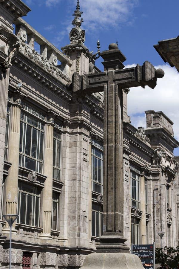la quito iglesia de эквадора compania стоковая фотография rf