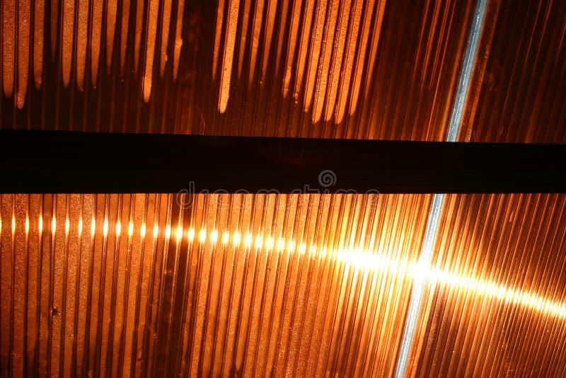 La réflexion de Sun - 1 photo stock