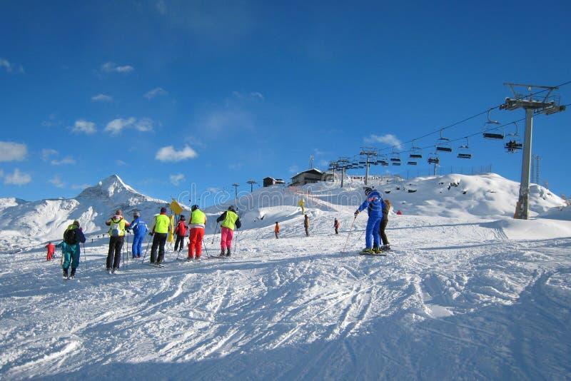La Région De Ski Image stock