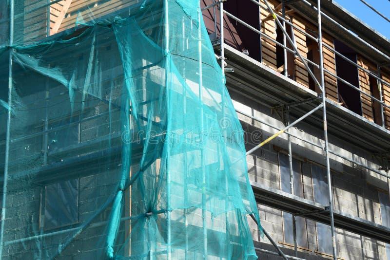 La rénovation d'une maison photo stock