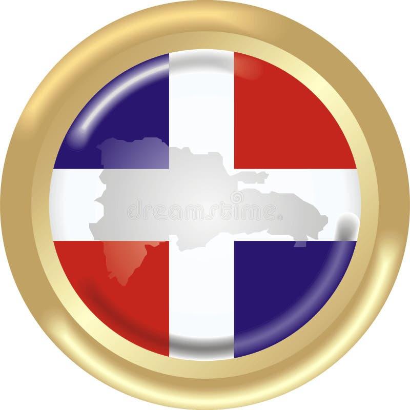 La république dominicaine illustration de vecteur