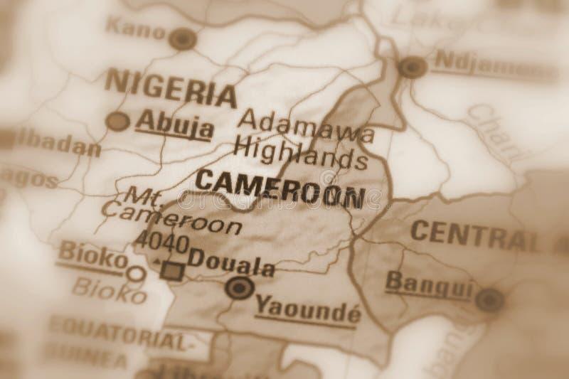 La république du Cameroun images libres de droits