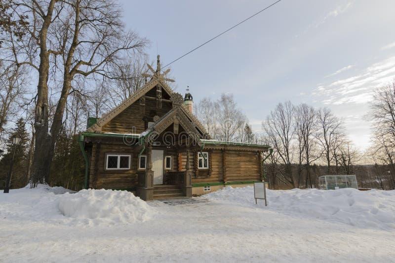 La réservation culturelle Abramtsevo images stock