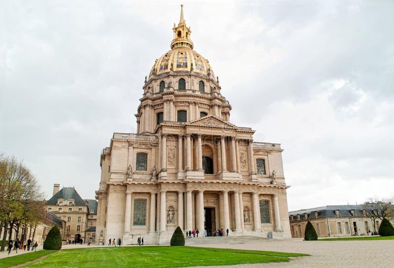 La résidence nationale d'Invalids à Paris photographie stock