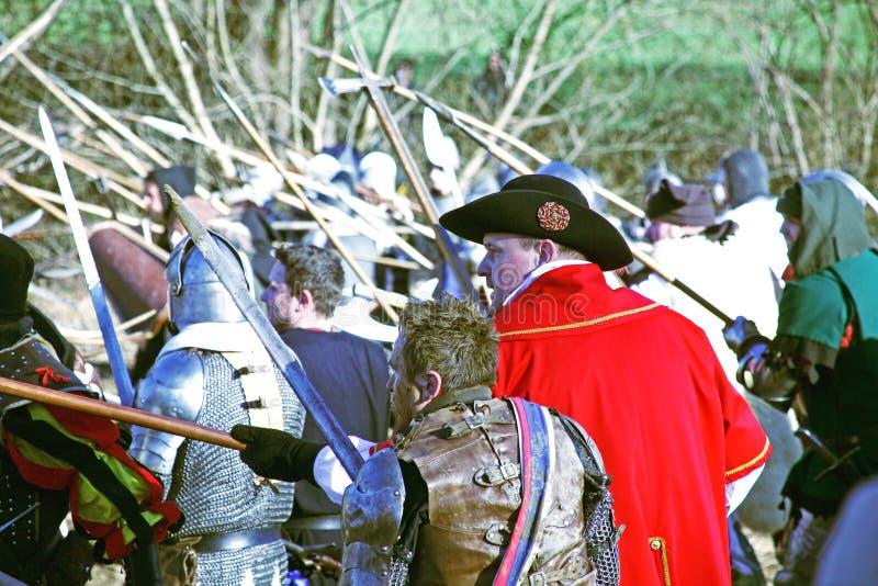 La révolte a des paysans d 1573 , reconstitution de la bataille finale, 10, Donja Stubica, Croatie, 2016 images stock