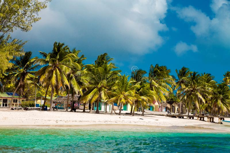 La R?publique Dominicaine, cana de Punta, ?le de Saona - Mano Juan Beach photo stock