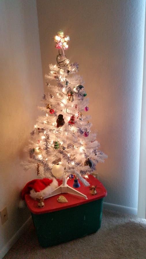 la 1ra Navidad foto de archivo libre de regalías