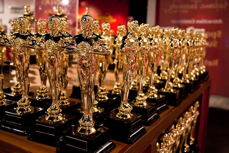 La raccolta di Oscar immagini stock libere da diritti