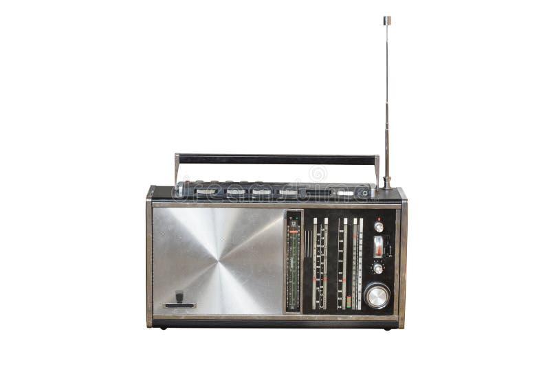 La radio vieja fotografía de archivo