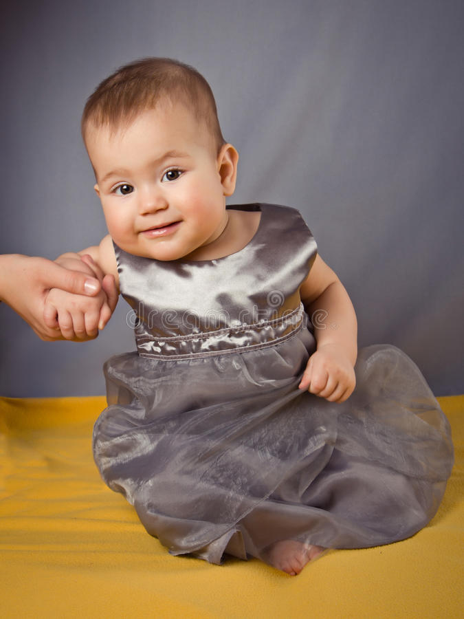 La ragazza-principessa. immagine stock libera da diritti