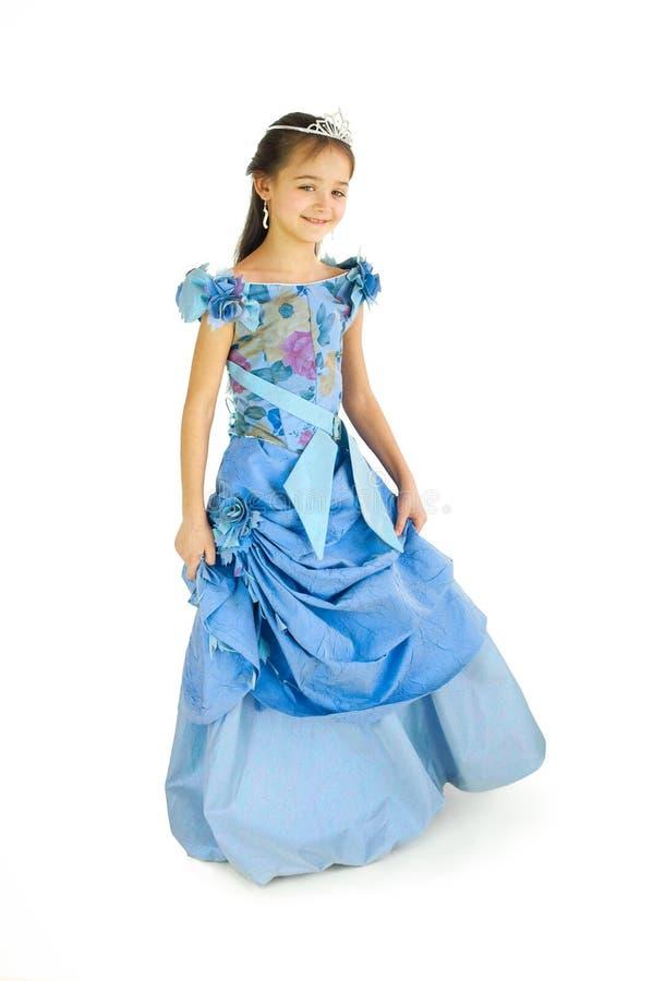 La ragazza in un vestito elegante fotografia stock libera da diritti