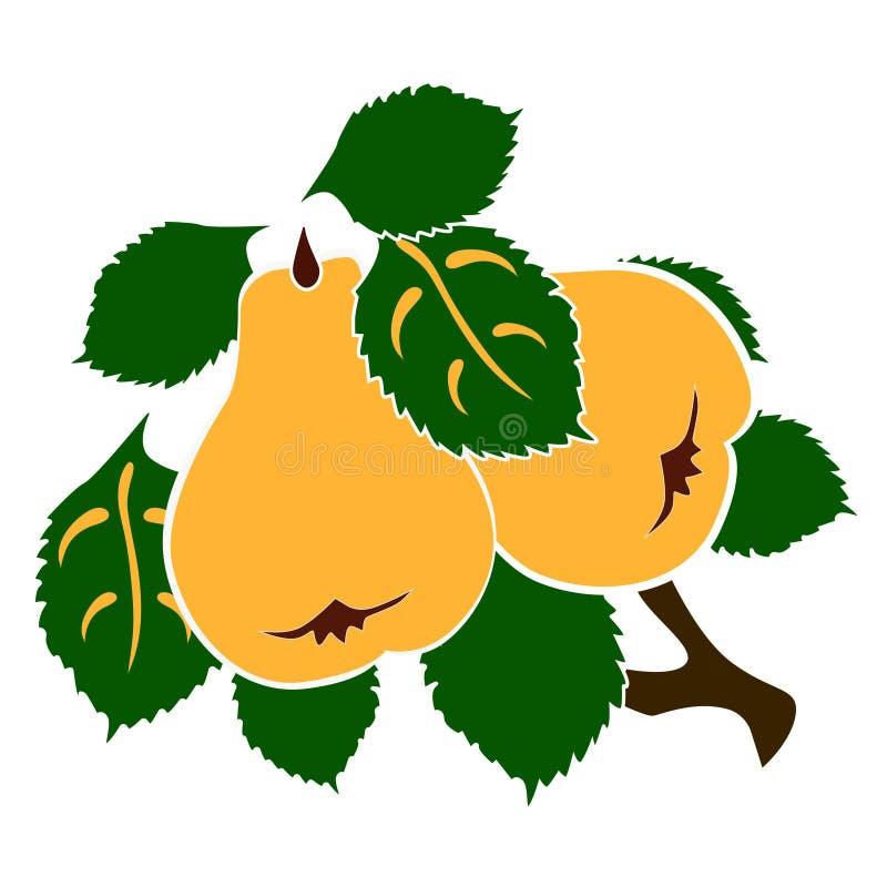 La rama de peras libre illustration