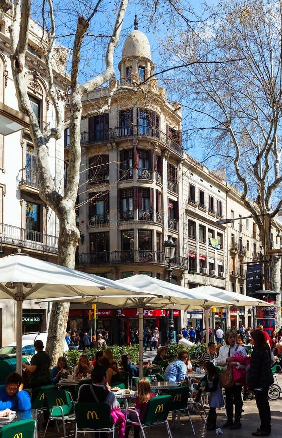 La Rambla, Barcelona foto de archivo libre de regalías