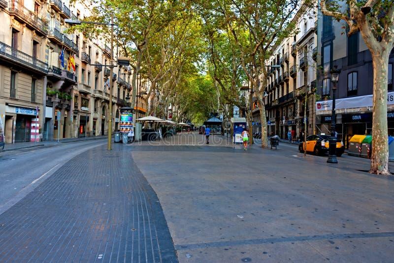 La Rambla, Barcelona imágenes de archivo libres de regalías