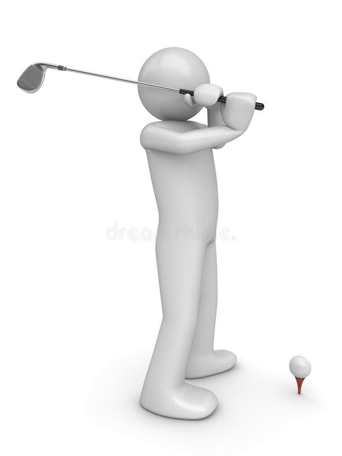 La rappe 2 de Golfman photo libre de droits