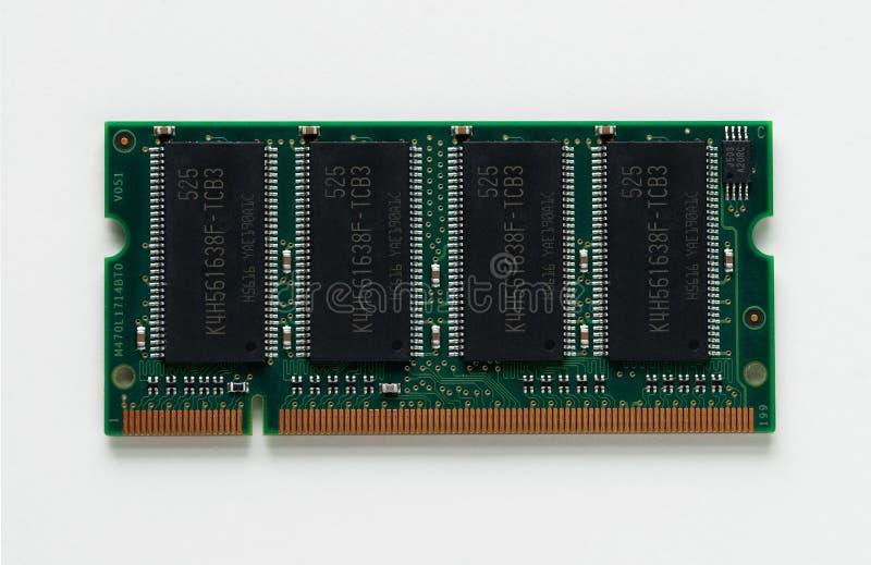 La RDA circuit de mémoire de 1 gigaoctet photo stock