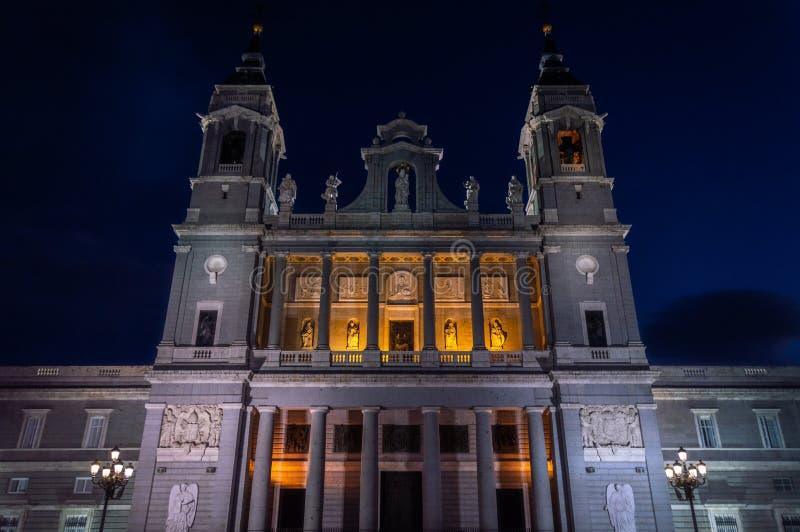 La Real de la Almudena 2 de Catedral de Santa MarÃa foto de stock royalty free