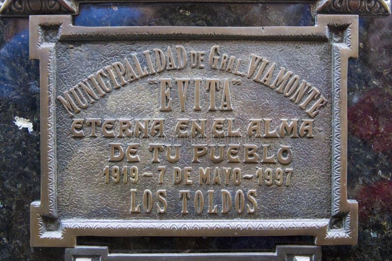 La Recoleta公墓在布宜诺斯艾利斯,阿根廷 免版税图库摄影