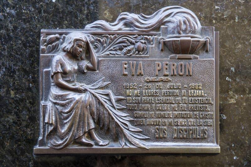 La Recoleta Cemetery in Buenos Aires, Argentina royalty free stock image