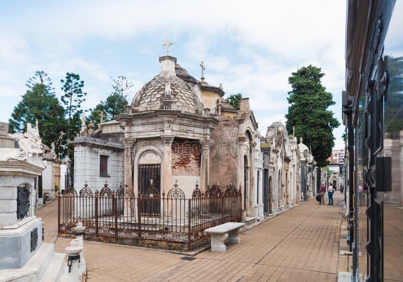 La Recoleta Cemetery stock photography