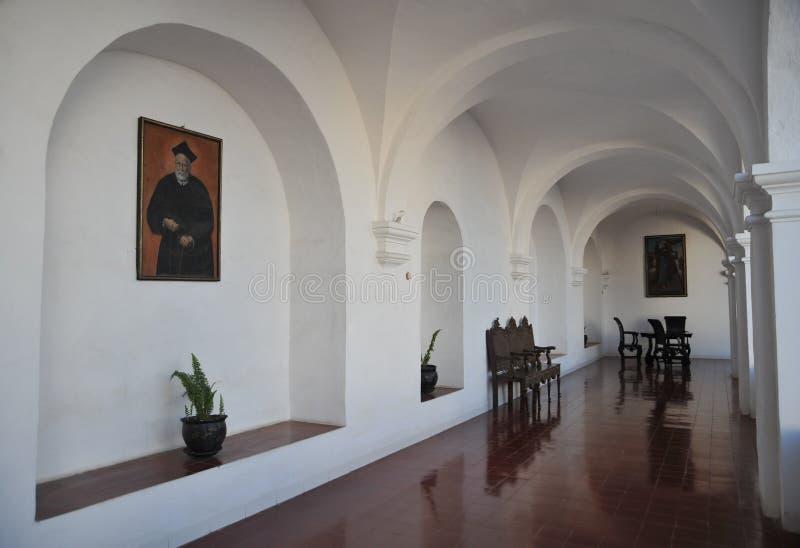 La Recoleta del monasterio imágenes de archivo libres de regalías