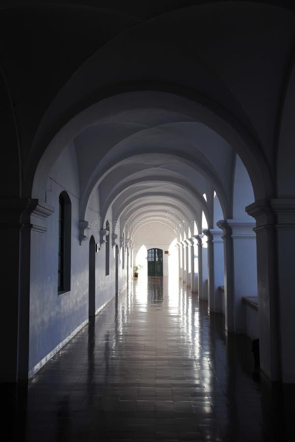 La Recoleta del monastero immagini stock libere da diritti